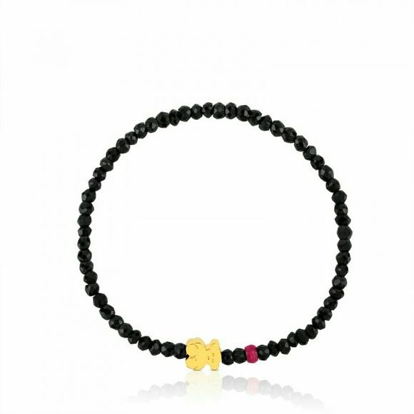 be3dd74d0 TOUS Micro Bear Bracelet Black Spinel Ruby 18K. M_5a58062ad39ca2734d184995